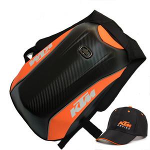 Motorcycle Bag Para KTM Motocross Bolsa Moto bagagem Shell duro motocicleta Backpack Motor Top Caso motocicleta Impermeável Casal Shoulder Bags