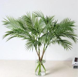 Plantes d'arbres artificiels Direction plastique Plantes d'intérieur Fake Plastic Arbre tropical jardin Décor Aucun pot