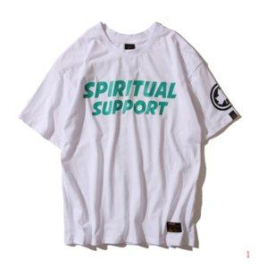 20 ans Hommes Designer T-shirt d'été T-shirts occasionnels des hommes lâches lettres Feuille d'érable Imprimer la mode Hip Hop manches courtes pour hommes T Vêtements shirt