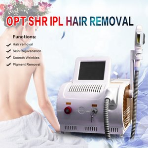 Portable IPL / OPT / Elight laser Épilation machine blanchissement de la peau 530nm, 480nm 640nm Trois Wavelength