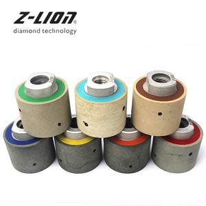 """Z-LION 2 """"7PCS الماس تلميع الطبل العجلات / مجموعة 50MM ويت الراتنج بوند عدم التسامح تلميع الطبل عجلة بالوعة القواطع الرملي"""