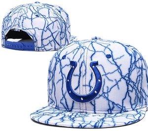 Cappelli di Snapback all'ingrosso di Indianapolis Registrabile all'aperto degli uomini di estate Cappelli di calcio Cappuccio di pallacanestro delle donne poco costose