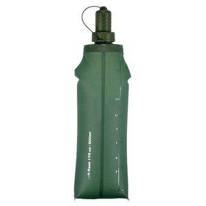 250ml 500ml Sport Water Bottle Water Bag TPU Folding Soft Flask Running Camping Hiking Bicycle Water Bag Foldable Drink Bottle