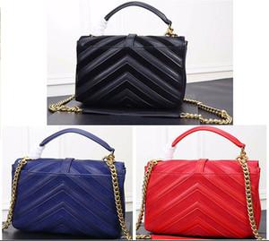 stripe espaço bolsas de alta qualidade Cruz listras diagonais bolsa das mulheres Bolsas de ombro de couro genuíno reais Bolsas