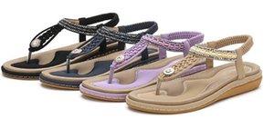 new267 hi-top mujeres de París l Diseño sandalias de verano de la playa de diapositivas deslizadores de señora PU de la impresión del cuero de color sólido