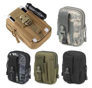смешанный тип Tactical Molle мешок пояса талии обновления сумка Карманные Military Running мешок CAMPING Сумки мобильного телефона Wallet Travel Tool