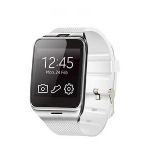 GV18 스마트 시계 블루투스 시계 카메라 손목 지원 SIM 카드 스마트 워치 IOS 아이폰 안드로이드 전화 시계