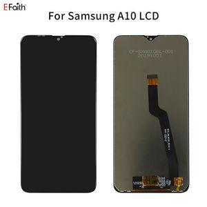 OEM Preto LCD digitador Assembléia para Samsung Galaxy A10 A105 SM-A105F Peças de Reposição com grátis DHL