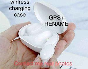 GPS Rename A2 A3 Air Tws Bluetooth fone de ouvido Earbuds H1 Chip Auscultadores sem fio de carregamento Caso Pods PK Ar 2 3 Pro i12 i500 i2000