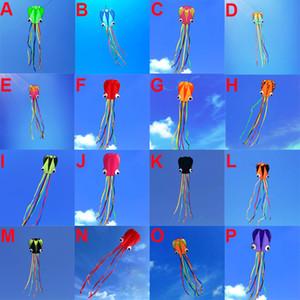 Al por mayor de pulpo Kite Kids al aire libre grande Kite Flyer Molusco Pulpo con la cola juega Regalo perfecto para la playa y el parque