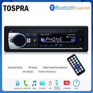 Tospra Bluetooth Autoradio Car Stereo Radio Fm Aux Input Receiver Sd Usb Jsd -520 12v In -Dash 1 Din Car Mp3 Multimedia Player