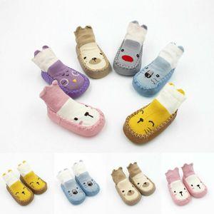 Anti Cartoon Cotton Socks Baby Piano slittamento Pudcoco bambini Calzini bambini a piedi calzini Boot Piano Pantofole Nuovo 2019