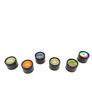 Forma 3D Printing Herb Grinder Rodada 3 Camadas Fumaça Grinders fumadores Retífica Diâmetro 3 centímetros Hot Sale 6hya E1
