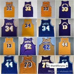 NCAA James 42 Worthy Dennis Rodman 73 Wilt Chamberlain 13 32 Johnson Shaquille 34 Die Neal 33 Abdul-Jabbar Jerry 44 West College Jersey