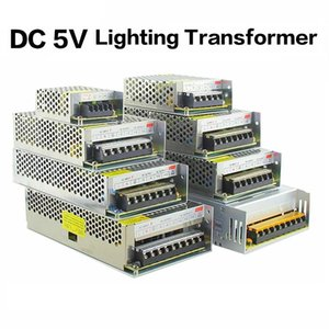 5V 2A / 3A / 4A / 5A / 8A / 10A / 12A / 20A / 30A / 40A / 60A Interruptor LED de encendido transformadores de alimentación WS2812B WS2801 SK6812 SK9822 Strip APA102 LED