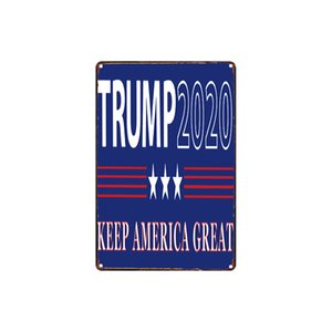 classic vintage the right to keep&bear arms have a democrat spayed or neutered TRUMP tin sign Coffee Shop Bar decoration Bar Metal Paintings