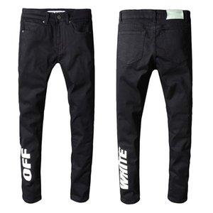2019 Hotsales Mens strappato strappato Skinny Biker Jeans Formato degli Stati Uniti 29-42 Slim Fit Motociclista Biker Denim Per Gli Uomini Progettista di marca Hip Hop Mens Je