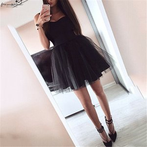 2020 Women Lace Dress Black Pink Mesh Tulle Slim Elegant Polyester Lady Princess Bridesmaid Wedding A Line Party Dresses Female Vestido