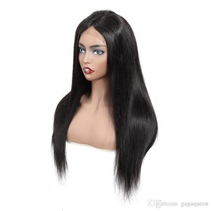 B 4x13 Lace Front Straight Human Hair Wigs 8 -20inch Nature Color Brazilian Straight Hair Wigs Unprocessed Swiss Lace Frontal Wigs