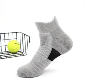 2019 USA new high elastic crew socks elite basketball football soccer sport mid-calf length crew sock terry towel kd socks for men #109