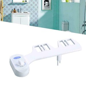 Fresh Water Spray manual Non-Electric Toilet Bidet Seat Attachment Flow Adjust New