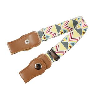 Fashion Children Kids Boy Girl Buckle Free Adjustable Elastic Waist Belt Waistband belts