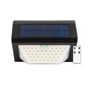 Cross-border new Solar voice alarm wireless remote control solar LED security warning lights Solar garden Outdoor lighting