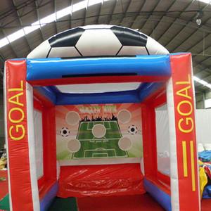 Популярные Надувной футбол цели Надувные спортивные игры футбольное поле футбольное поле надувные футбольные ворота для наружного мероприятия