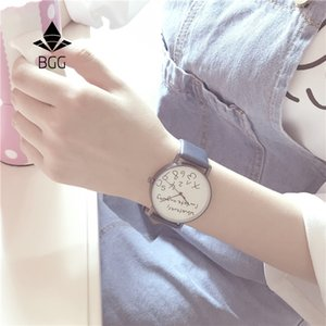 atch fashion Whatever I am late anyway Creative Watches Simple Street Leisure Women Quartz Leather Watch Characteristic Ladies Fashion Ho...