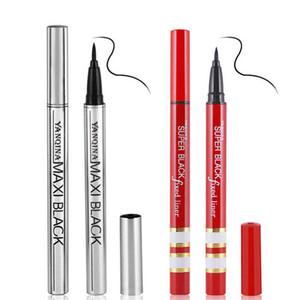 вкладыш для макияжа Подводка для глаз Карандаш Водонепроницаемый черный Eyeliner Pen Нет Цветущий Precision Liquid Eye Pencil Макияж Инструменты RRA2112