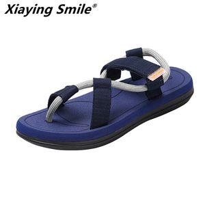 unisex 2019 new summer beach shoes men sandals roma leisure breathable clip toe is cool procrastinate dual-purpose sandal male Y200702