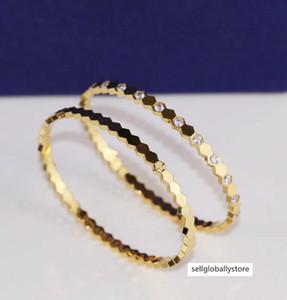 marca di qualità lussuosa amanti punk Il disegno classico bracciale bangle bracelet Women Size con diamante o senza diamanti regalo gioielli PS634