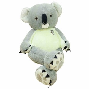 Jumbo Animal Koala muñeca gigante felpa de dibujos animados Toy oso del abrazo linda super suave para regalo de la muchacha de Deco 90 cm 120 cm 140 cm DY50792
