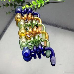 Цвет спираль S Кастрюли стеклянные бонги Oil Burner Glass Водопроводные трубы нефтяные вышки для курения Бесплатная