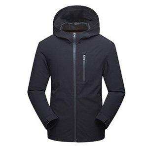 남성 자켓 코트 겨울 방수 소프트 쉘 자켓 윈드 브레이커 사냥 의류 가을 힙합 하라주쿠 코트 Streetwear Male