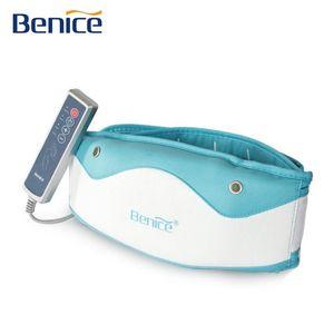 Benice emagrecimento perder peso Fat Burner Magro Massager Belt Slender Shaper Fat Burning oscilante Magro Belt (2 cores)