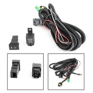 Areyourshop Car H11 Fog Light Wiring Harness Sockets Wire LED indicators Switch Fit For Toyota Car Auto Accessories Parts