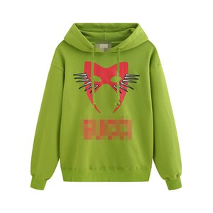 2020 Cat Face Mask Print Hoodies For Mens Womens Fall Solid Color Hooded Sweatershirts Casual Pullover Top Quality Clothing B103605V