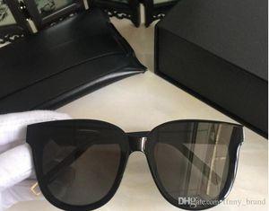 Top-Qualität v Mode polarisierte Sonnenbrille Rahmen IN SCARLET Sonnenbrille Vintage Handmade Männer Frauen GM Style Brand Sonnenbrille mit Fall