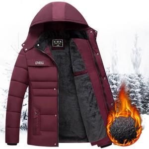 Chaqueta de invierno para el traje de algodón caliente de Corea del invierno informal chaqueta de los hombres de la moda hombres TYJTJY 2019 Nuevo, además de terciopelo de los hombres