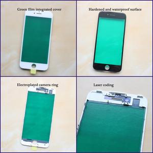 Vidro exterior com frame para iPhone 6G 6S 6S Além disso 7G 7plus 8 8g 8 Tela Além disso LCD frontal de toque de vidro moldura + moldura do painel digitador Sensor Parts
