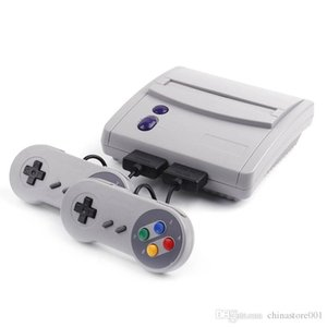 16Bit Super Mini SFC TV Spielkonsolen Für 2018 Hot Sell 64 SNES Super 16 Bit Games Entertainment System Console gute Qualität