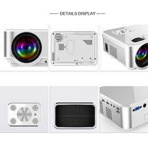 을 Freeshipping 고품질 안드로이드 프로젝터 1280 * 720 지원 4K 비디오 통해 HDMI 홈 시네마 영화 비디오 프로젝터