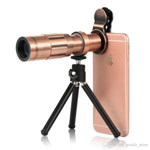 Adaptador de fotografía de teléfono celular para binoculares monoculares Alcance de detección - Accesorios de telescopio de 38 ~ 43 mm de diámetro