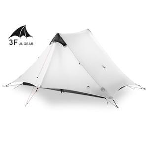 Lanshan 2 3f Ul Gear 2 Person 1 Person Ultraleicht-Campingzelt für den Außenbereich 3 Season 4 Season Professional 15d Silnylon Rodless Tent SH190713