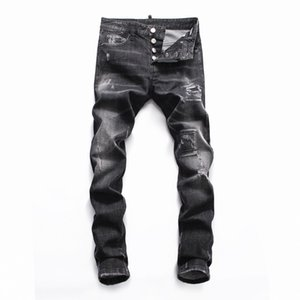 2019 Jeans New Fashion Mens Simple Summer Lightweight Jeans Mens Fashion Casual Solid Classic Straight Denim Designer Jeans Size 28-38