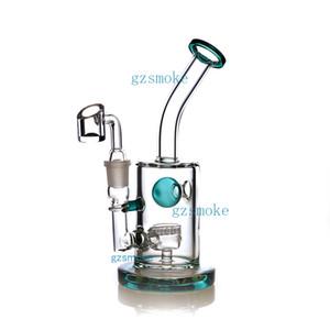 Toro dab plate-forme bong conduite d'eau Bangs tubes en verre quartz capiteux cire pétard à billes percolateur narguilés coloré de haute qualité