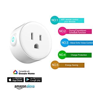 Prise WIFI Smart Plug US Prise Prise de synchronisation intelligente Prise de fonction de commande de prise sans fil pour prise domotique intelligente