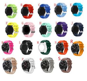 Hotsale Nuevo Reemplazo Muñequera Correa de Silicona Corchete Para Samsung Gear S3 Pulseras de Reloj Inteligente