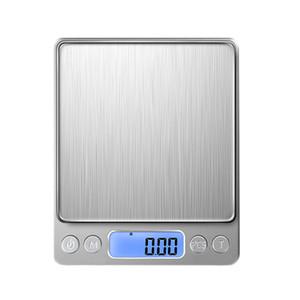Точные кухонные электронные весы 5 / 10кг 1g LCD дисплей Электронной Скамья Вес Шкало Кухня Кулинарии Мера Инструменты Продовольственный баланс